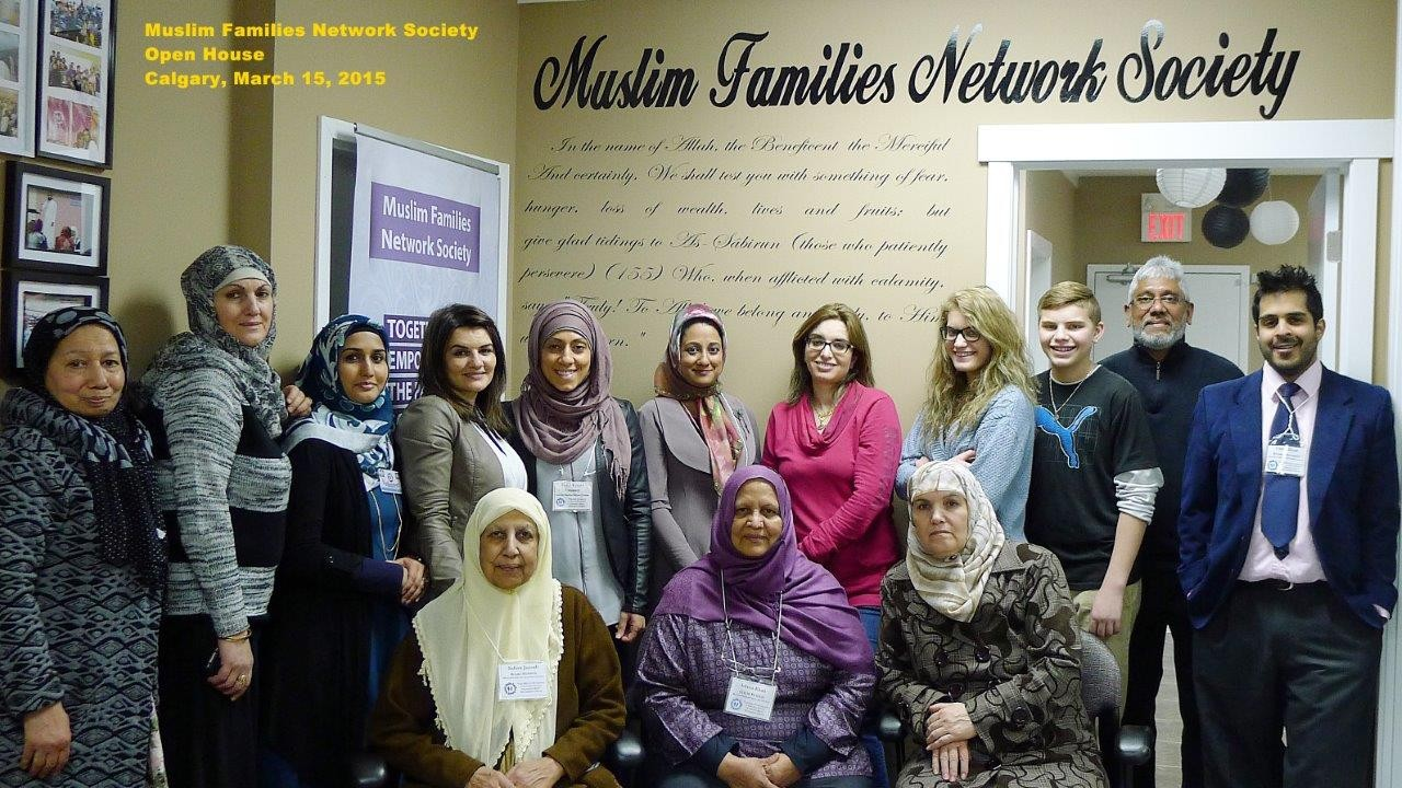 MFNS Open House – March 15, 2015 – Muslim Families Network Society