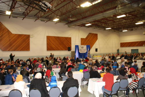 Welcome Dinner for Syrian Refugees - March, 2016